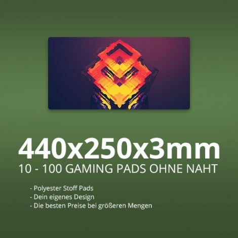 Gaming Mauspads 440x250x3mm