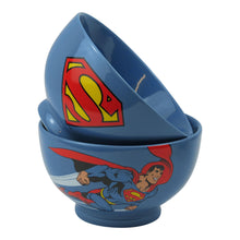 Load image into Gallery viewer, Superman Zoom & Logo Stoneware Bowl