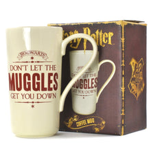 Load image into Gallery viewer, Harry Potter Don't Let The Muggles Get You Down Latte Mug