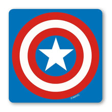 Load image into Gallery viewer, Captain America Shield Coaster