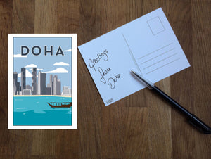 DOHA Postcard from Doha Designs