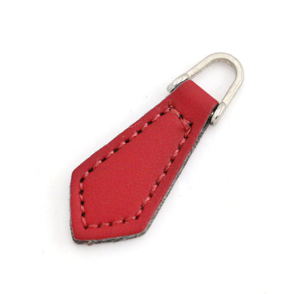 Leather Zipper Puller for Garments