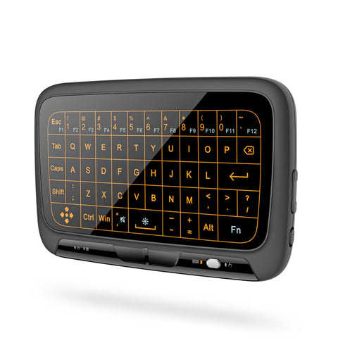 H18 Plus 2.4GHz Wireless Mini Keyboard Touchpad With backlight