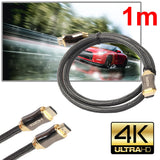 HDMI Cable High Speed 18Gbps Braided HDMI Cord