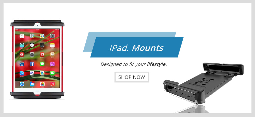 iPad Holder by Mounts Pakistan - RAM Mounts Pakistan Authorized Reseller