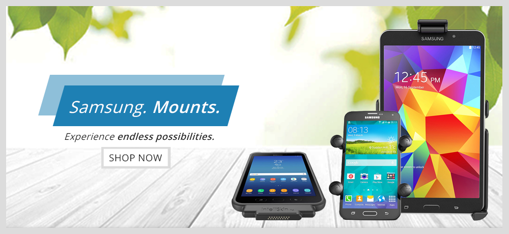 Samsung Device Mounts - RAM Mounts Pakistan Authorized Reseller