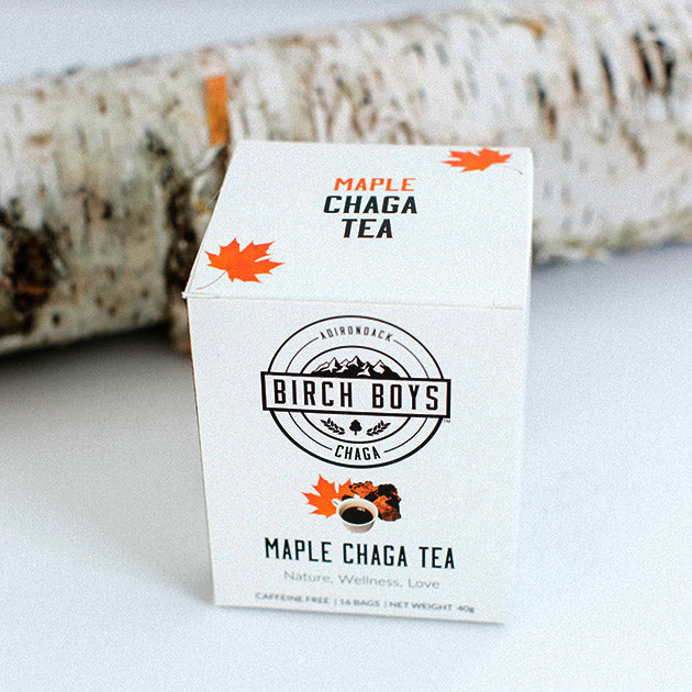 Birch Boys Maple Chaga Tea Bags
