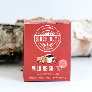 Birch Boys Wild Reishi Tea Bags