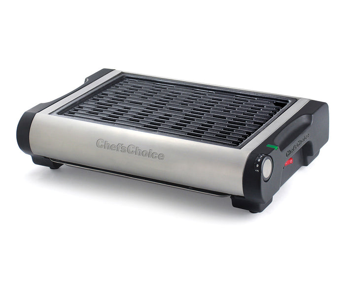 Chef'sChoice® Cast Iron Professional Indoor Electric Grill Model 880