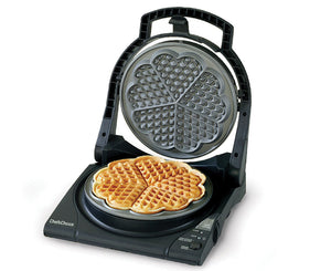 "Chef'sChoice® WafflePro® Taste/Texture Select® Traditional ""Five-of-Hearts"" Model 840"