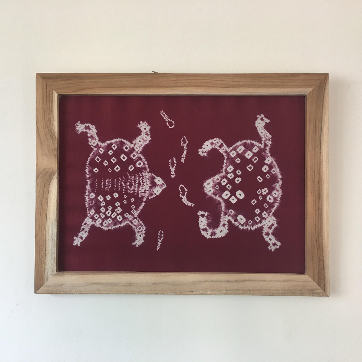 Purple Frog Couple Art