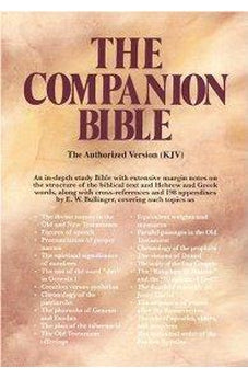 The Companion Bible 9780825422034