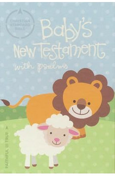 CSB Baby's New Testament with Psalms, White LeatherTouch 9781462762965