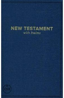 CSB Pocket New Testament with Psalms, Navy Trade Paper 9781462780006