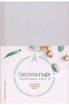 CSB (in)courage Devotional Bible, Gray Hardcover 9781462785032