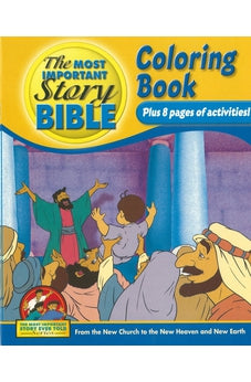 The Most Important Story Bible Coloring Book 9781894685719