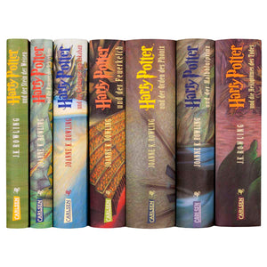 German Edition Harry Potter Sets - Jackets Only