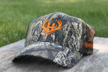Mossy Oak Hat with Mesh Back