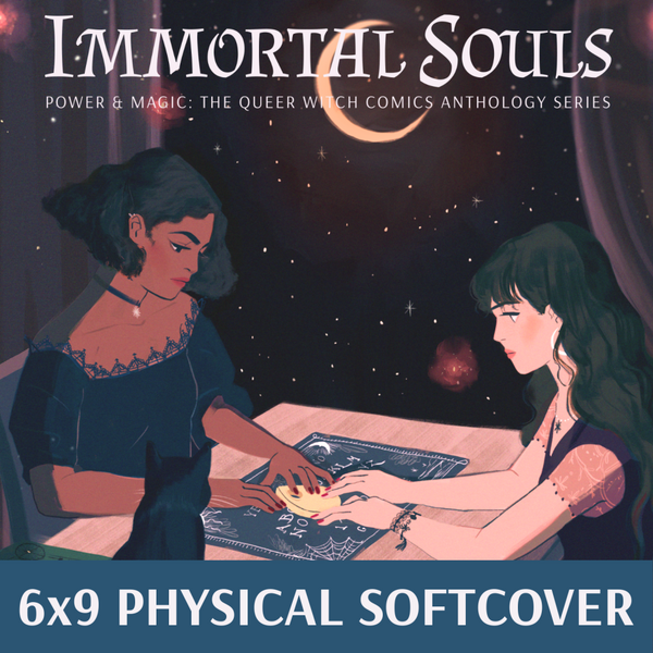 IMMORTAL SOULS softcover edition now in stores!