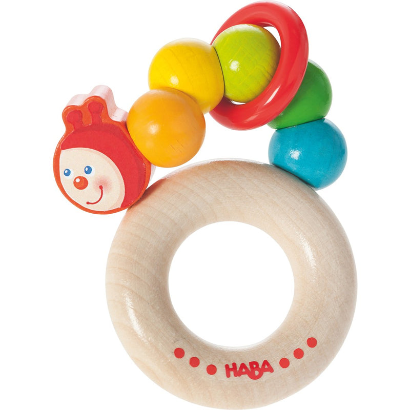 Haba Clutching Toy Rainbow Caterpillar