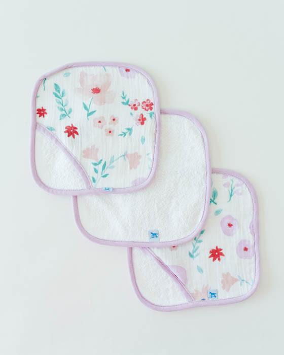 Little Unicorn Washcloth Set - Morning Glory