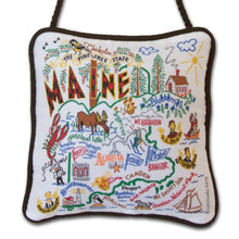 Load image into Gallery viewer, Maine Mini Pillow Ornament - catstudio