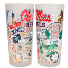 Load image into Gallery viewer, Mississippi, University of (Ole Miss) Collegiate Drinking Glass Glass catstudio