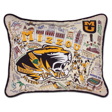 Load image into Gallery viewer, Missouri, University of (Mizzou) Collegiate Embroidered Pillow Pillow catstudio