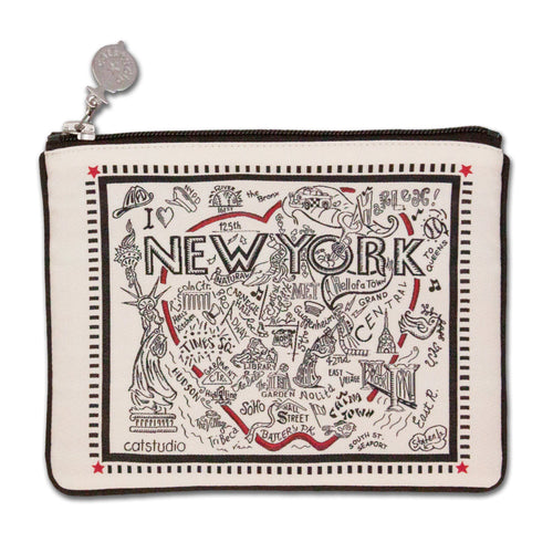 New York City Pouch - B&W Pouch catstudio
