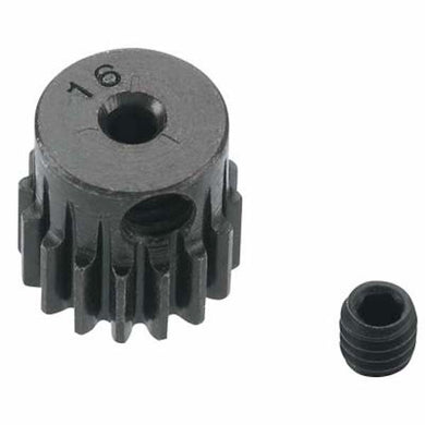 RRP 1816 Mini Pinion Gear 2mm Bore .5 Mod 16T - Hardened Steel - 1/16 1/18 Scale