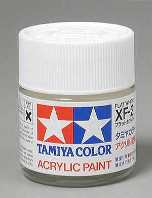 Tamiya 81302 Acrylic Paint 23ml XF-2 Flat, White