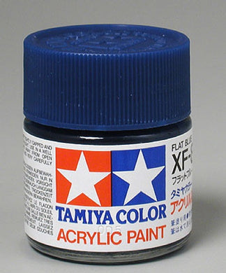 Tamiya 81308 Acrylic Paint 23ml XF-8 Flat, Blue
