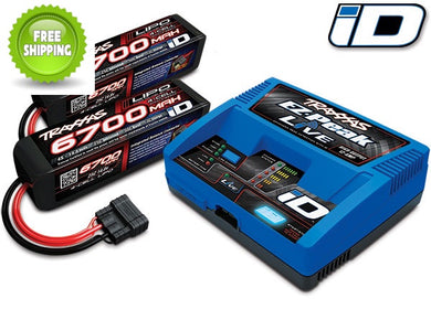 Traxxas TRA2993 Battery/Charger - Includes #2971 Charger, #2890X Batteries (2)