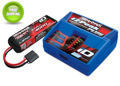 Traxxas TRA2994 Battery Charger Completer Set: 2849X 3-Cell 4000mah 11.1v Battery & 2970 EZ-Peak Plus