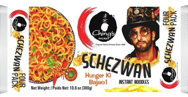 Chings Secret Schezwan Instant Noodles 300g - MandiBazaar