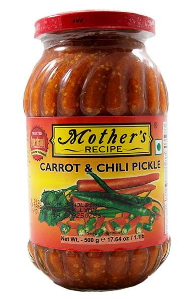 Mothers Recipe Carrot & Chilli Pickle 500g
