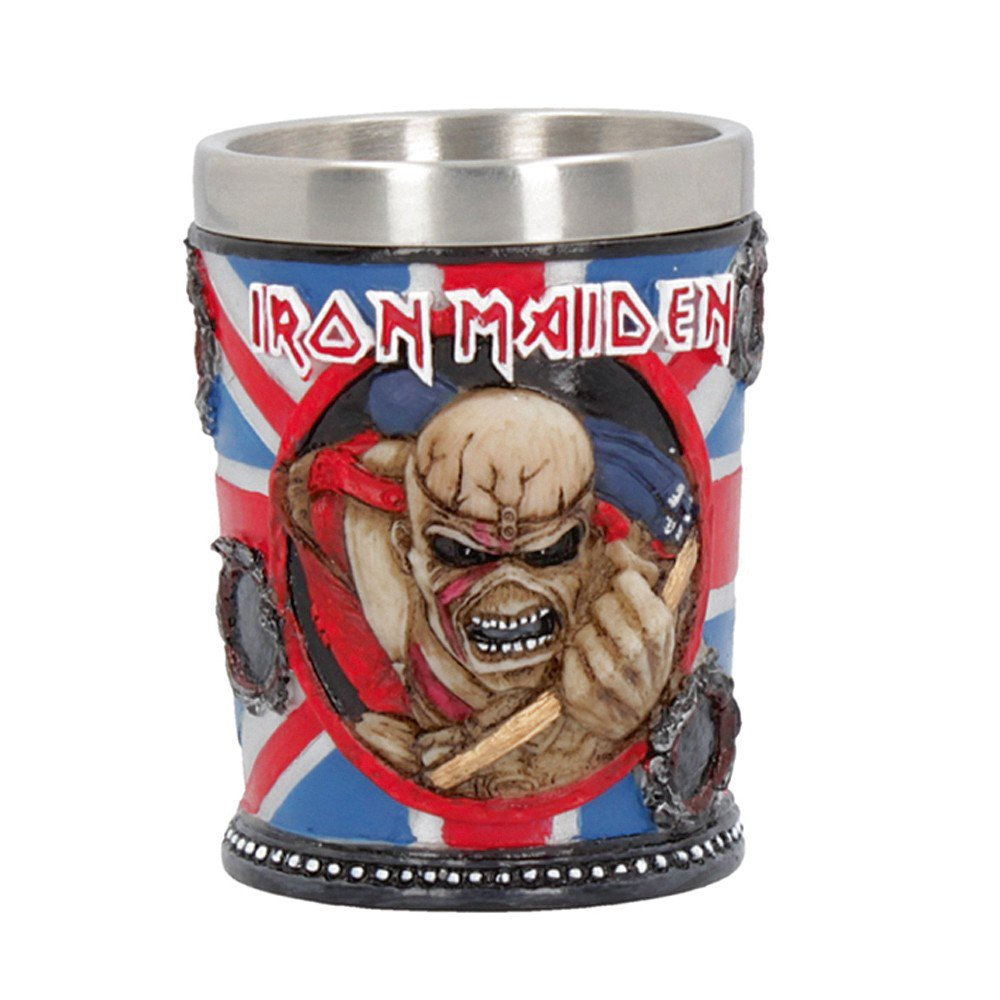 Iron Maiden Eddie Shot Glass Officially Licensed Merchandise, Merch, X-Records