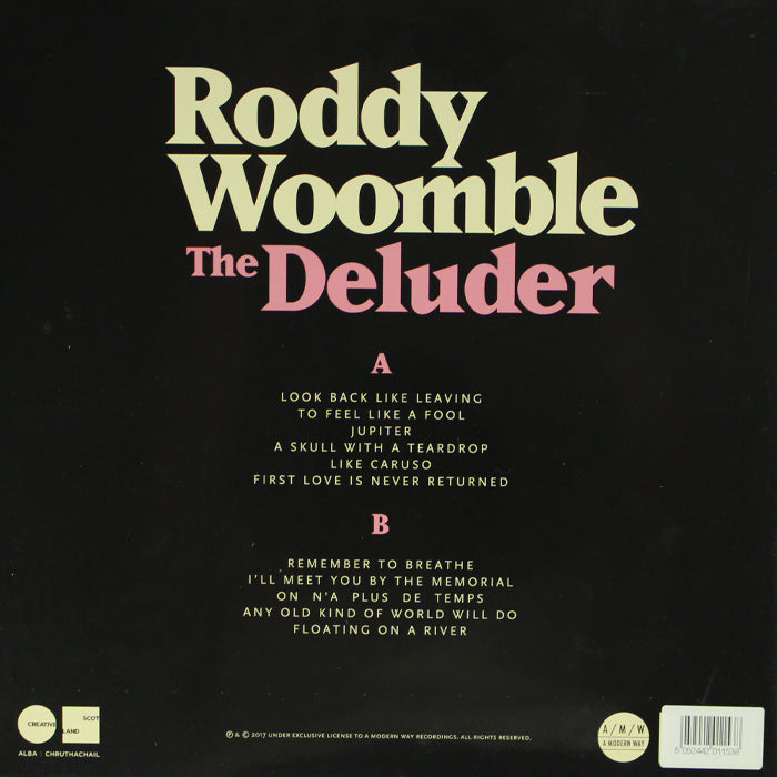 Roddy Woomble ‎– The Deluder Limited Edition Colour Vinyl Record, Vinyl, X-Records