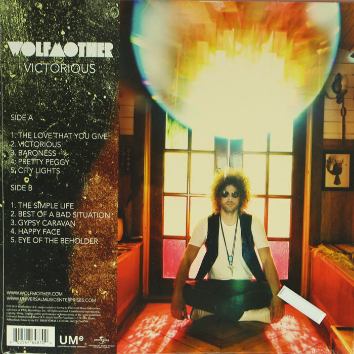 Wolfmother ‎– Victorious 180g Vinyl Record, Vinyl, X-Records