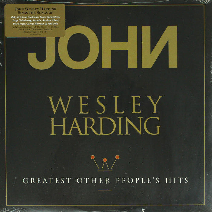 John Wesley Harding ‎– Greatest Other People's Hits Vinyl Record Album, Vinyl, X-Records