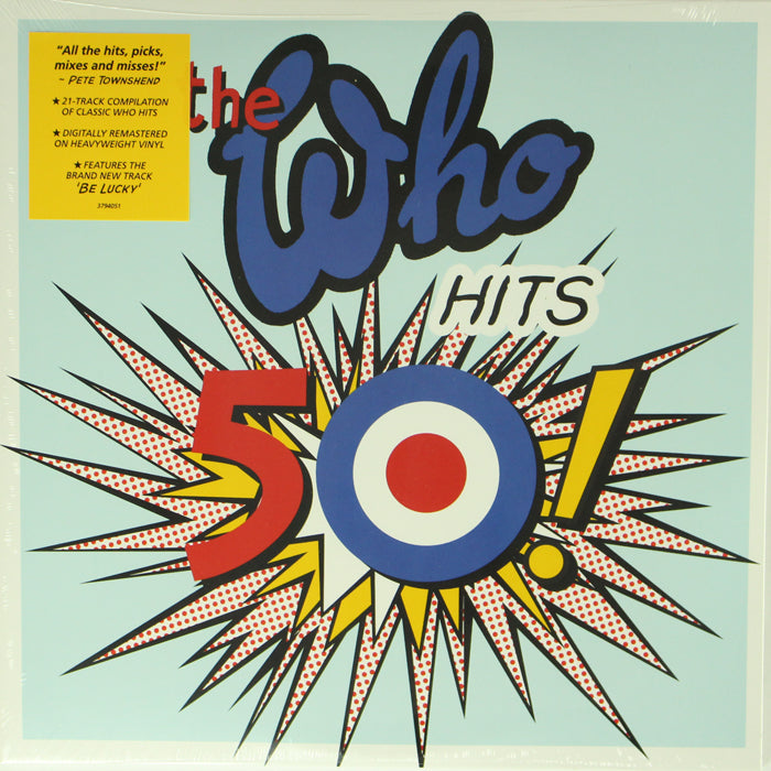 The Who ‎– The Who Hits 50! 2LP Vinyl Record Compilation, Vinyl, X-Records