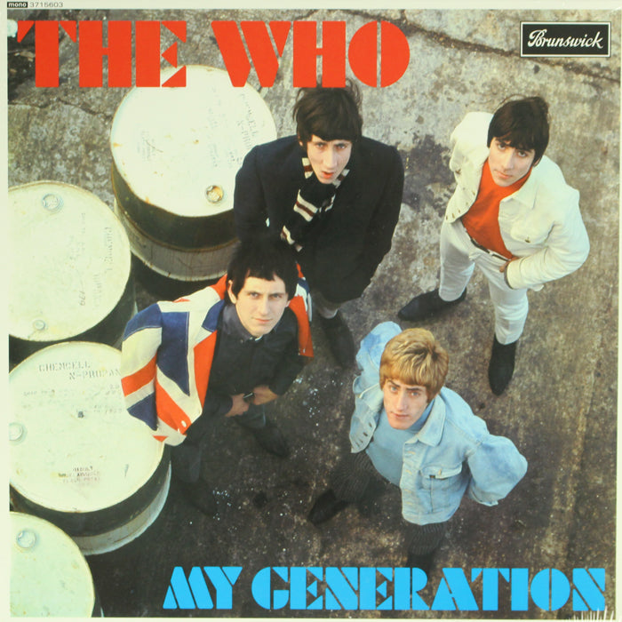 The Who ‎– My Generation 3LP Limited Edition Vinyl Record Album, Vinyl, X-Records