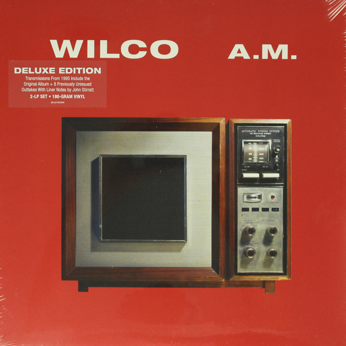 Wilco - A.M. Deluxe Edition 2LP 180g Vinyl Record Album, Vinyl, X-Records