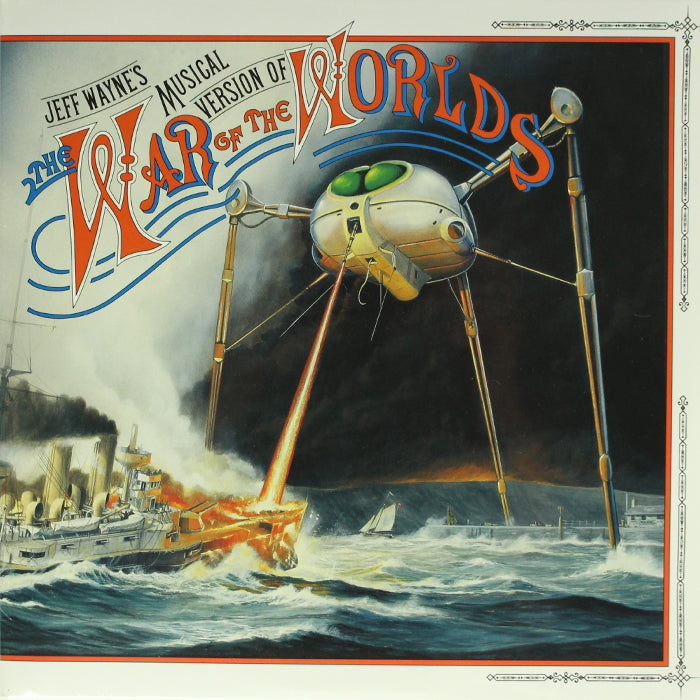 Jeff Wayne ‎– The War Of The Worlds 2LP Vinyl Record Soundtrack, Vinyl, X-Records