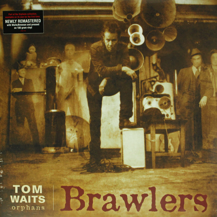 Tom Waits ‎– Brawlers Limited Edition RSD Colour 2LP Vinyl Record Album, Vinyl, X-Records