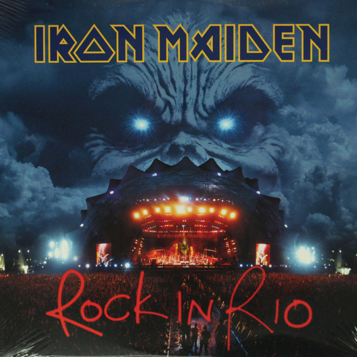 Iron Maiden ‎– Rock In Rio 3LP Remastered Vinyl Record Album, Vinyl, X-Records