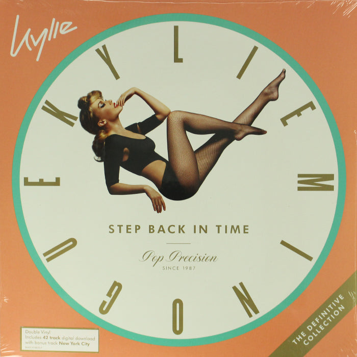 Kylie ‎– Step Back In Time (The Definitive Collection) 2LP Mint Green Colour Vinyl Record, Vinyl, X-Records