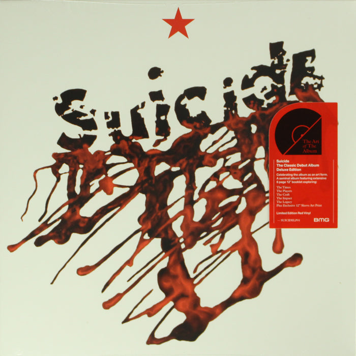 Suicide - Suicide Indie Exclusive Red Colour 140g Vinyl Record Reissue, Vinyl, X-Records