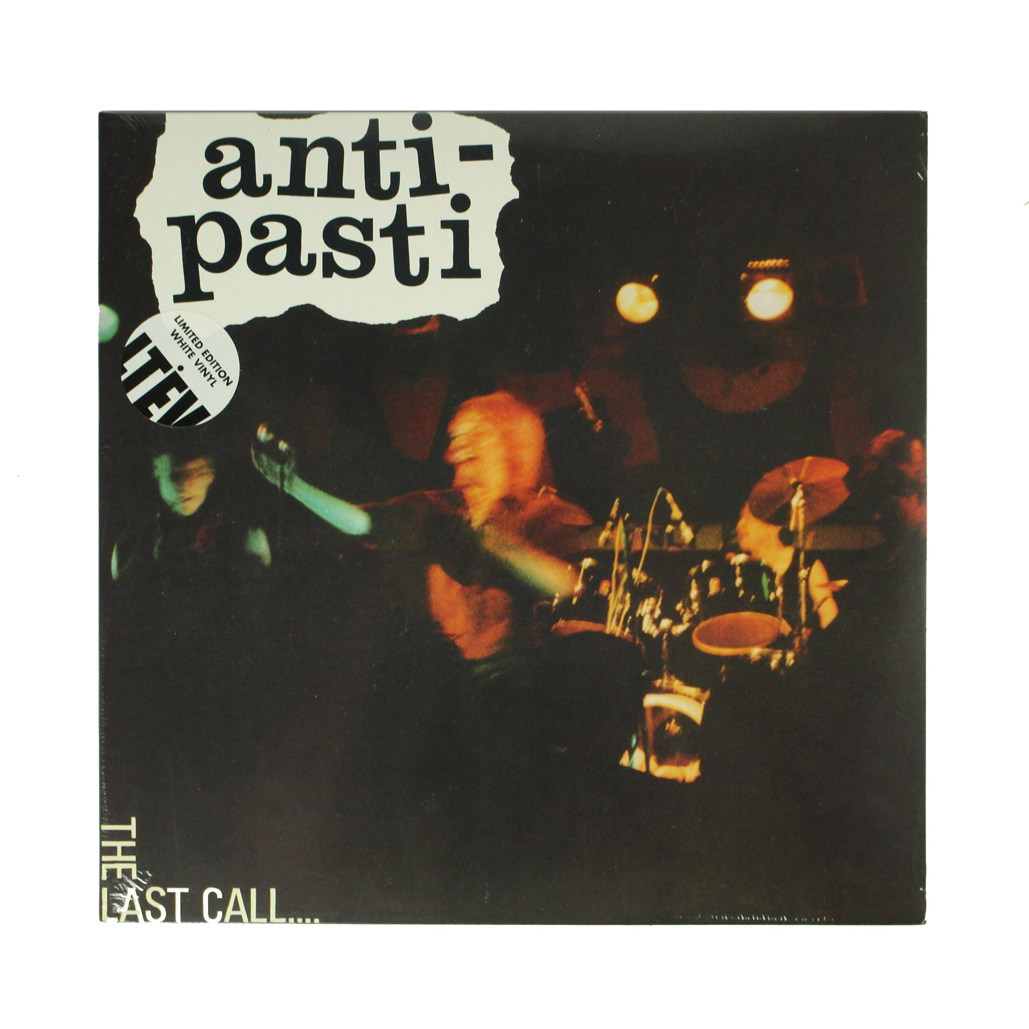 "Anti-Pasti ‎– The Last Call.... 12"" White Colour Vinyl Record, Vinyl, X-Records"