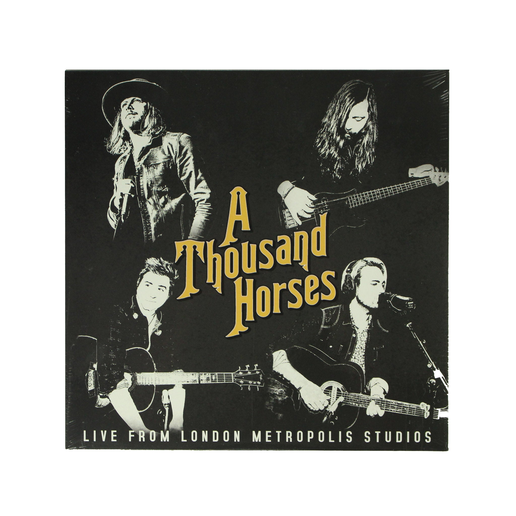 "A Thousand Horses ‎– Live From London Metro 12"" Vinyl Record, Vinyl, X-Records"